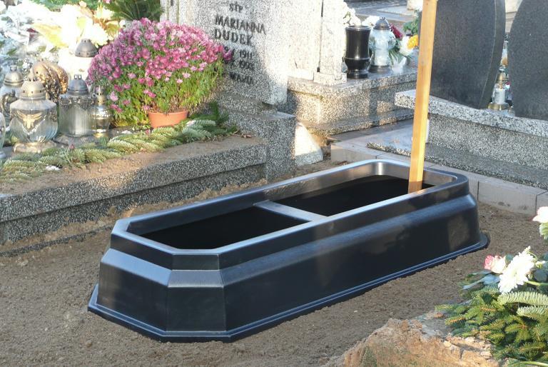 Obudowa grobu plastikowa